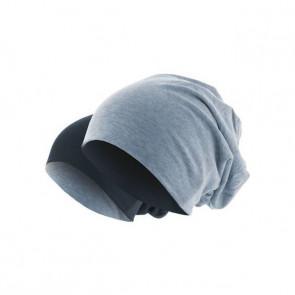 bonnet homme réversible indigo/bleu marine - Masterdis