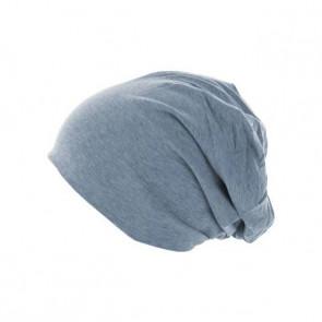Bonnet homme Jersey réversible - Indigo / Bleu marine - Masterdis