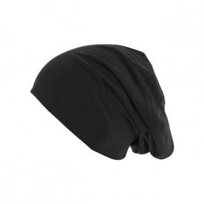 Bonnet homme Jersey réversible - Noir / Gris chiné - Masterdis