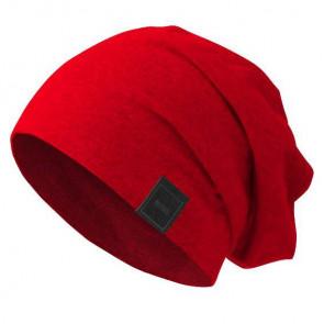 Bonnet Jersey sans couture pour homme - Rouge clair