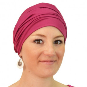 Bonnet de bain Iris rose - Look Hat Me