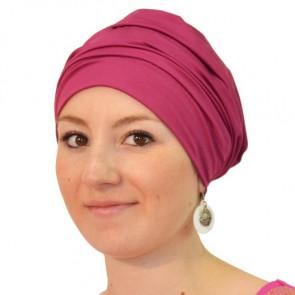 Bonnet de bain Iris fushia - Look Hat Me
