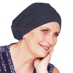 Bonnet de bain Iris marine - Look Hat Me
