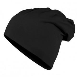 Bonnet homme Beanie en coton - Noir - Masterdis