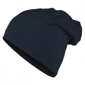 Bonnet homme Beanie en coton - Bleu marine - Masterdis