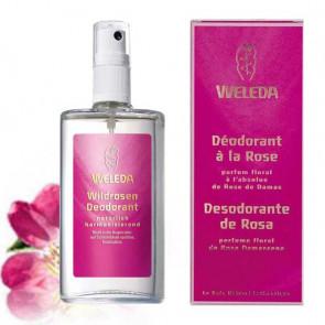 Déodorant Weleda à la rose