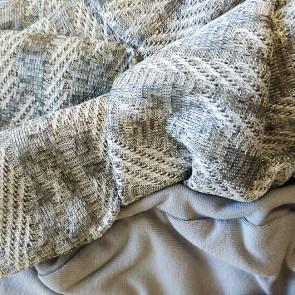Turban pour femme Palma gris brillant - Comptoir de Vie
