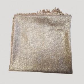 Étole pailletée Héra à nouer or - Comptoir de Vie