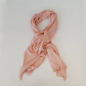 Étole pailletée Héra à nouer rose - Comptoir de Vie