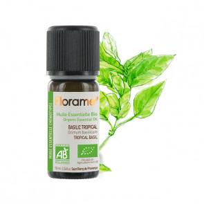 Huile Essentielle Bio Basilic Tropical FLORAME - 10 ml