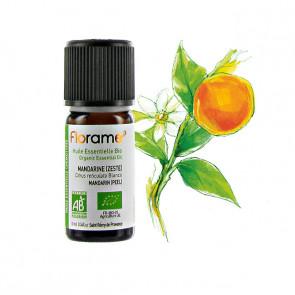 Huile Essentielle Bio Mandarine FLORAME - 10 ml