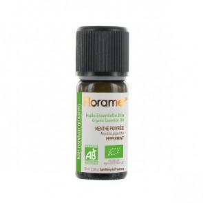Huile Essentielle Bio Menthe poivrée FLORAME - 10 ml