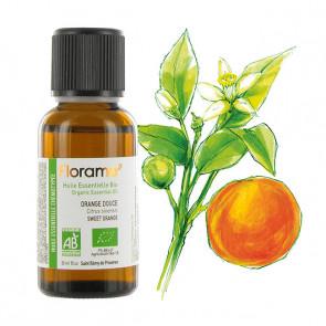 Huile Essentielle Bio Orange douce FLORAME - 10 ml