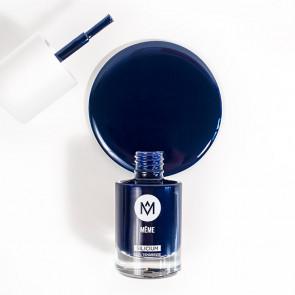 Vernis au silicium Bleu marine - MêMe Cosmetics