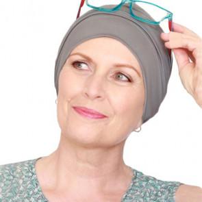 Bonnet de bain Iris gris - Look Hat Me