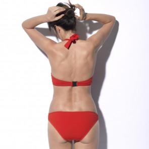 Maillot de bain deux pièces pour prothèse mammaire - Roxanne Orange - Marli Paris