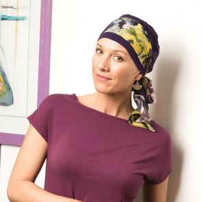 Foulard préformé Mélinda violet