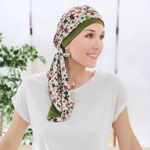 Foulard préformé Nadia Fleurs - MM Paris