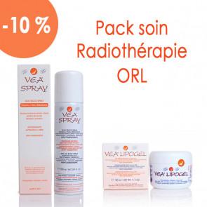 Pack soin Radiothérapie ORL - 1 Spray 1 Lipogel - Laboratoires VEA