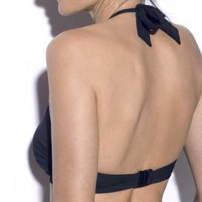 Maillot de bain deux pièces pour prothèse mammaire - Roxanne Noir - Marli Paris