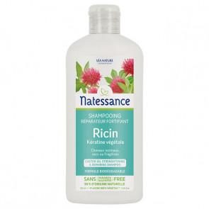 Shampoing réparateur fortifiant ricin / kératine végétale - Natessance