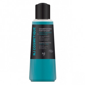 Shampoing fortifiant à l'argile turquoise - NJ cosmétique