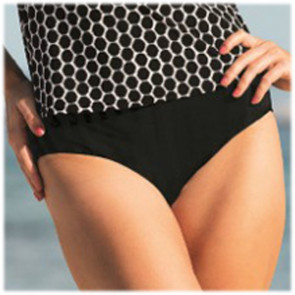 Bas de tankini Paris comfort bottom noir 8709 - Anita Care