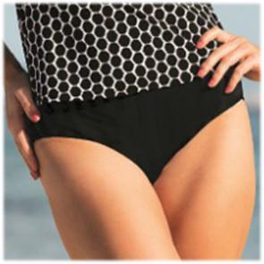 Bas de tankini Paris comfort bottom noir 8709 - Anita Care