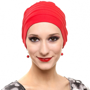 Bonnet Bambou LOLA Rouge - MM Paris