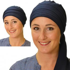 Foulard bandana Roma Bleu marine - Comptoir de Vie