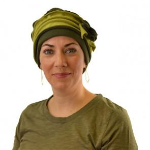 Turban polaire Mélanie - Kaki / Vert