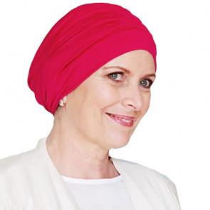 Bonnet de bain Iris framboise - Look Hat Me