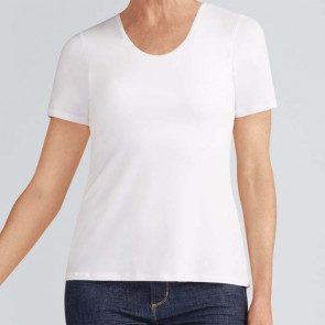 Tee-shirt Valetta avec soutien-gorge intégré  Blanc - Amoena