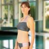 Maillot de bain deux pièces pour prothèse mammaire - Amazone Gris - Marli Paris