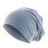Bonnet homme Beanie en coton - Indigo - Masterdis