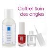Coffret soin des ongles - 1 vernis coloré + 1 vernis incolore + 1 dissolvant - Eye Care