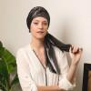 Étole pailletée Héra à nouer dark gray - Comptoir de Vie