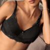 Soutien-gorge pour prothèse Aurelie Padded noir sans armatures - Amoena